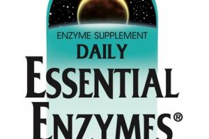 DAILY ESSENTIAL ENZYMES DIGESTIVE AID DIETARY SUPPLEMENT CAPSULES