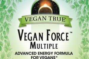 VEGAN FORCE MULTIPLE ADVANCED ENERGY FORMULA FOR VEGANS DIETARY SUPPLEMENT TABLETS