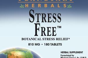 STRESS FREE BOTANICAL STRESS RELIEF 810 MG · HERBAL SUPPLEMENT TABLETS