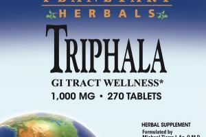 TRIPHALA GI TRACT WELLNESS 1,000 MG • HERBAL SUPPLEMENT TABLETS