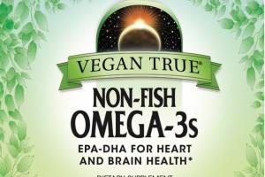NON-FISH OMEGA-3S EPA-DHA FOR HEART AND BRAIN HEALTH DIETARY SUPPLEMENT VEGAN CAPSULES