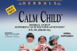 CALM CHILD HERBAL SYRUP SUPPORTS CALM FOCUSED ATTENTION HERBAL SUPPLEMENT