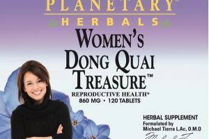 WOMEN'S DONG QUAI TREASURE REPRODUCTIVE HEALTH 860 MG HERBAL SUPPLEMENT