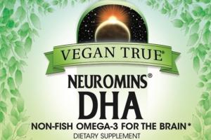 NEUROMINS DHA NON-FISH OMEGA-3 FOR THE BRAIN DIETARY SUPPLEMENT VEGETARIAN SOFTGELS
