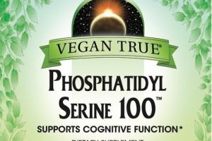 PHOSPHATIDYL SERINE 100 SUPPORTS COGNITIVE FUNCTION DIETARY SUPPLEMENT VEGETARIAN CAPSULES