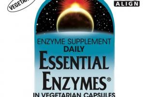 DAILY ESSENTIAL ENZYMES VEGETARIAN CAPSULES ENZYME SUPPLEMENT CAPSULES