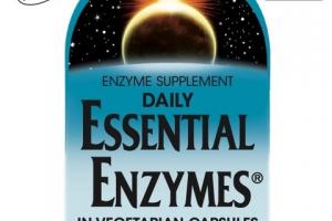 DAILY ESSENTIAL ENZYMES IN VEGETARIAN CAPSULES DIGESTIVE AID DIETARY SUPPLEMENT