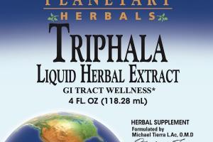 TRIPHALA LIQUID HERBAL EXTRACT GI TRACT WELLNESS HERBAL SUPPLEMENT