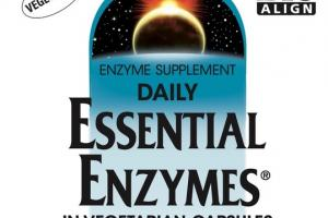 DAILY ESSENTIAL ENZYMES 500 MG DIGESTIVE AID ENZYME SUPPLEMENT VEGETARIAN CAPSULES