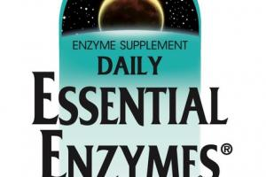 DAILY ESSENTIAL ENZYMES 500 MG DIGESTIVE AID ENZYME SUPPLEMENT CAPSULES