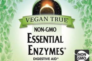 NON-GMO ESSENTIAL ENZYMES 500 MG DIGESTIVE AID DIETARY SUPPLEMENT VEGETARIAN CAPSULES