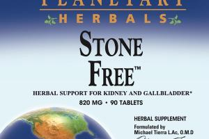 STONE FREE 820 MG HERBAL SUPPORT FOR KIDNEY AND GALLBLADDER HERBAL SUPPLEMENT TABLETS