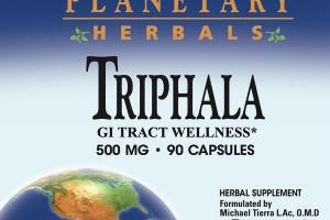 TRIPHALA 500 MG GI TRACT WELLNESS HERBAL SUPPLEMENT CAPSULES