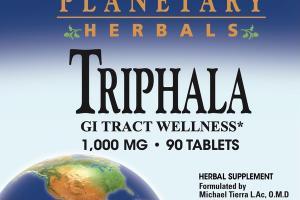 TRIPHALA 1,000 MG GI TRACT WELLNESS HERBAL SUPPLEMENT TABLETS