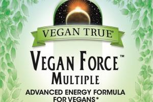 VEGAN FORCE MULTIPLE ADVANCED ENERGY FORMULA FOR VEGANS DIETARY SUPPLEMENT TABLETS