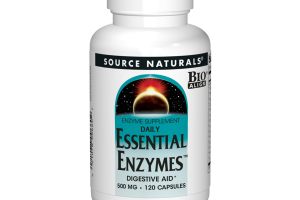 DAILY ESSENTIAL ENZYMES 500 MG DIGESTIVE AID* ENZYME SUPPLEMENT CAPSULES