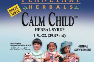 CALM CHILD HERBAL SUPPLEMENT SYRUP