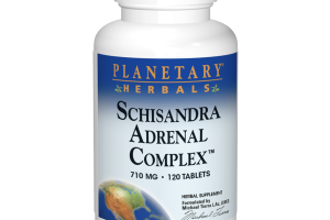 SCHISANDRA ADRENAL COMPLEX™ 710 MG HERBAL SUPPLEMENT TABLETS