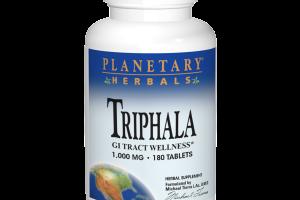 TRIPHALA GI TRACT WELLNESS 1,000 MG HERBAL SUPPLEMENT TABLETS