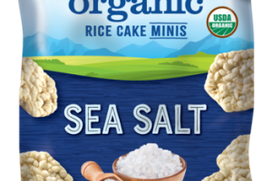 SEA SALT ORGANIC RICE CAKE MINIS