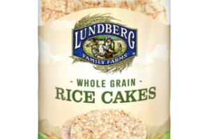 LIGHTLY SALTED WHOLE GRAIN BROWN RICE CAKES