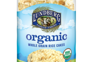 LIGHTLY SALTED WILD RICE ORGANIC WHOLE GRAIN RICE CAKES