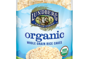 ORGANIC BROWN RICE SALT-FREE WHOLE GRAIN RICE CAKES