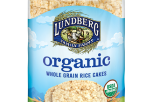 ORGANIC BROWN RICE LIGHTLY SALTED WHOLE GRAIN RICE CAKES