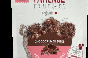 ORGANIC MILK CHOCOLATE & CHIA CHOCOCRUNCH BITES