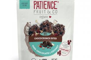ORGANIC DARK CHOCOLATE & COCONUT 60% COCOA CHOCOCRUNCH BITES