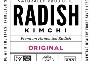 ORIGINAL PREMIUM FERMENTED RADISH KIMCHI