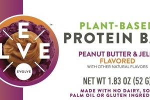 PEANUT BUTTER & JELLY FLAVORED PROTEIN BAR