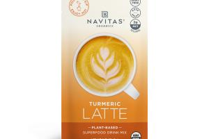 TURMERIC LATTE PLANT-BASED SUPERFOOD DRINK MIX