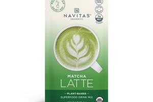 MATCHA LATTE PLANT-BASED SUPERFOOD DRINK MIX
