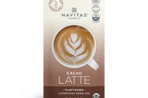 PLANT-BASED CACAO LATTE SUPERFOOD DRINK MIX