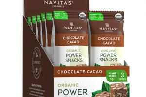 CHOCOLATE CACAO ORGANIC POWER SNACKS