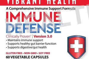 A COMPREHENSIVE IMMUNE SUPPORT FORMULA IMMUNE DEFENSE DIETARY SUPPLEMENT VEGETABLE CAPSULES