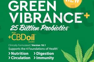 25 BILLION PROBIOTICS PLUS +CBD OIL (POWDER) DIETARY SUPPLEMENT
