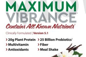MAXIMUM VIBRANCE PLANT-BASED MULTI-SUPPLEMENT ADVANCED DAILY FUTUREFOOD DIETARY SUPPLEMENT PACKETS VANILLA BEAN