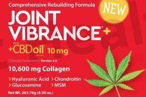 COMPREHENSIVE REBUILDING FORMULA JOINT VIBRANCE PLUS +CBDOIL 10 MG DIETARY SUPPLEMENT POWDER ORANGE PINEAPPLE