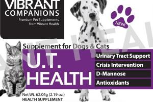 U.T. HEALTH SUPPLEMENT FOR DOGS & CATS