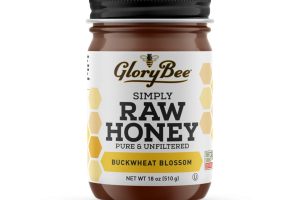BUCKWHEAT BLOSSOM PURE & UNFILTERED SIMPLY RAW HONEY