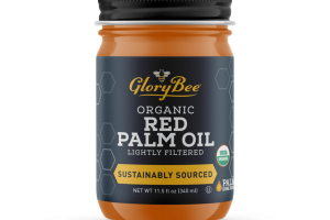 ORGANIC LIGHTLY FILTERED RED PALM OIL