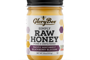 PACIFIC NORTHWEST BLACKBERRY BLOSSOM PURE & UNFILTERED RAW HONEY