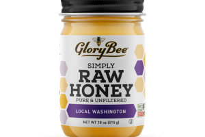 LOCAL WASHINGTON PURE & UNFILTERED SIMPLY RAW HONEY