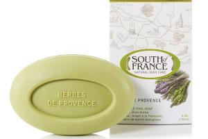 FRENCH MILLED OVAL SOAP WITH ORGANIC SHEA BUTTER
