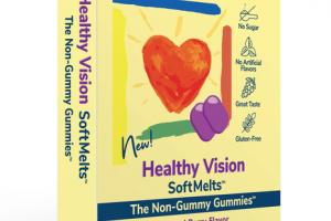 HEALTHY VISION SOFT MELTS DIETARY SUPPLEMENT TABLETS NATURAL BERRY