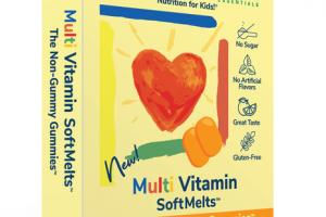 MULTI VITAMIN SOFT MELTS NON-GUMMY DIETARY SUPPLEMENT GUMMIES TABLETS NATURAL ORANGE FLAVOR
