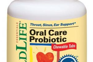 ESSENTIALS K12 ORAL CARE PROBIOTIC DIETARY SUPPLEMENT CHEWABLE TABLETS NATURAL STRAWBERRY
