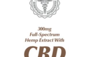 CBD 300 MG FULL-SPECTRUM HEMP EXTRACT WITH SKIN CREAM